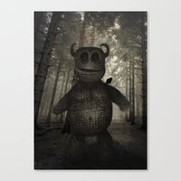 In the forest. Canvas Print