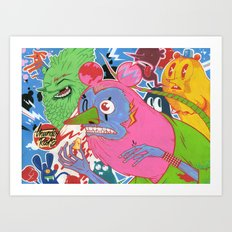 Thunder Rats Art Print