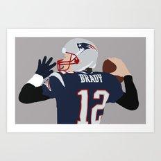 Brady Digital Print Art Print