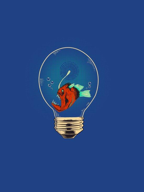 Anglerfish bulb Art Print
