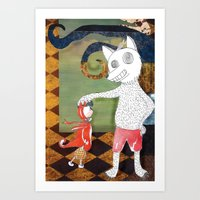 Little Red Riding Hood I… Art Print