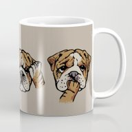 Noevil English Bulldog Mug