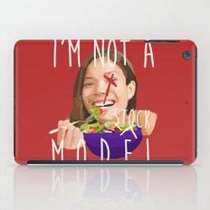 i'm not a (stock) model iPad Case