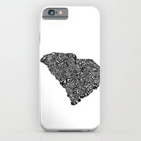 Typographic South Carolina iPhone 6 Slim Case