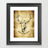 Baratheon  Framed Art Print