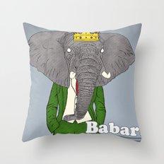 Babar Throw Pillow