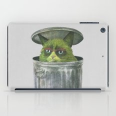 Grouchy Cat  iPad Case