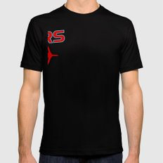 Niners Mens Fitted Tee Black SMALL