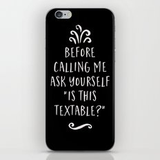Is This Textable iPhone & iPod Skin