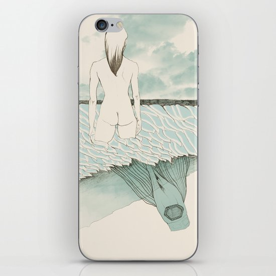 at sea iPhone & iPod Skin