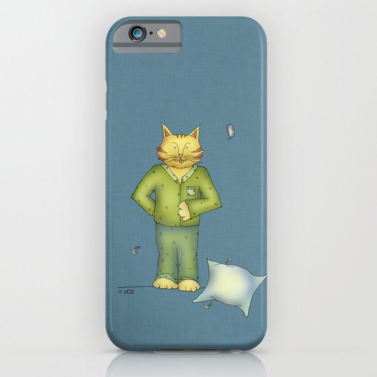 You are the cat's pajamas - blue iPhone & iPod Case