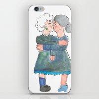 My grandma's are lesbians iPhone & iPod Skin