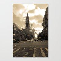 NYC streets Canvas Print