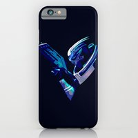 iPhone Cases featuring Mass Effect: Garrus Vakarian by Fiona Ng