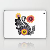 Indhi Swan Laptop & iPad Skin