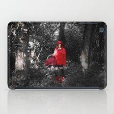 red riding hood iPad Case