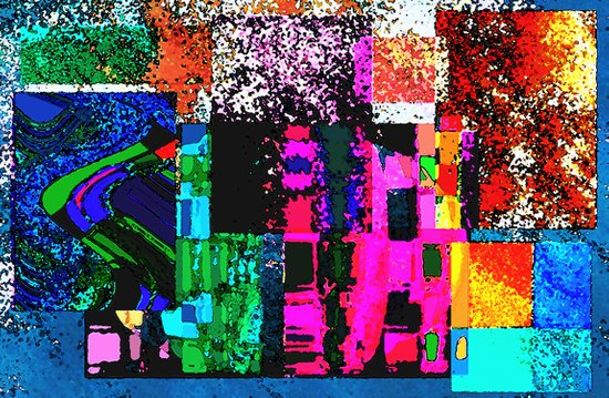 Abstract Art Laptop series 1 updated version Art Print
