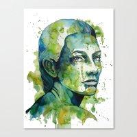 Paulina by carographic Canvas Print