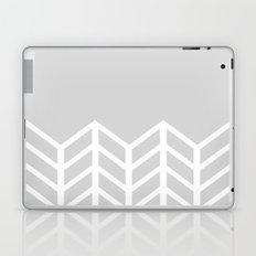 LACE CHEVRON (GRAY) Laptop & iPad Skin