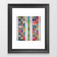 Crochet Splendour Framed Art Print