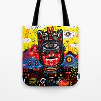 Bright Magic Day Tote Bag