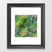 Jungle Tangle Paradise  Framed Art Print
