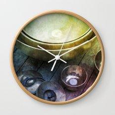 Singing Bowls Wall Clock