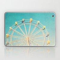 Boardwalk Ferris Wheel Laptop & iPad Skin
