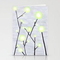 Modern Glow Stationery Cards