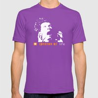 Infkted With Life Mens Fitted Tee Ultraviolet SMALL