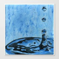 Drip. Drop. Canvas Print