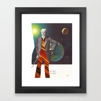 Professor OrangePants Framed Art Print