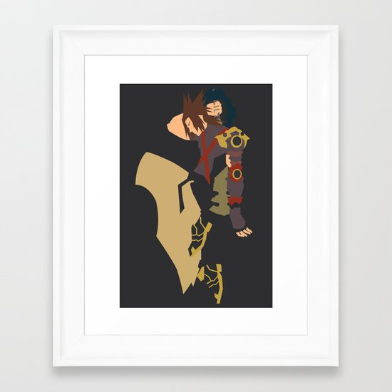 Kingdom Hearts - Terra Framed Art Print
