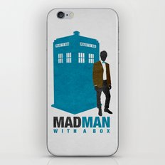MAD MAN With A Box iPhone & iPod Skin