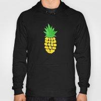 Watercolor Pineapples Tropic Hoody