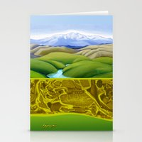 The Lie of the Land: Tararua Stationery Cards