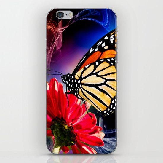 Butterfly Summer Dance  iPhone & iPod Skin