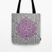 Mandala Pattern With Gli… Tote Bag