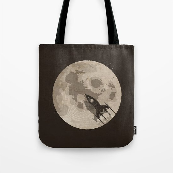 Around the Moon Tote Bag