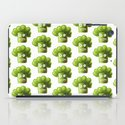 Funny Broccoli Pattern iPad Case