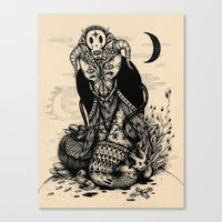 The Lord Of Darkness Canvas Print