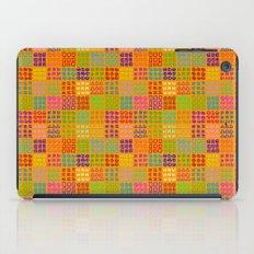 Aztec Wannabe (Orange) iPad Case