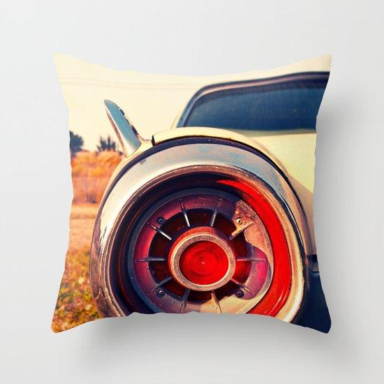 T-Bird taillight Throw Pillow