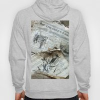 Old Newspaper Left To Th… Hoody