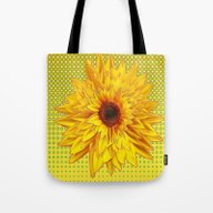 Contemporary All Yellow … Tote Bag