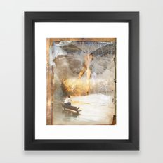The Sacred and the Mundane Framed Art Print