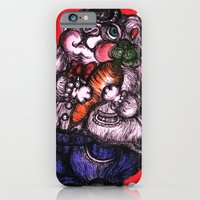 rabbit iPhone & iPod Cases featuring Rabbit by AKIKO