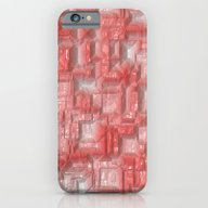 Peppy Crystals Red iPhone 6 Slim Case