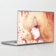 Laptop & iPad Skin featuring Automne Rouge by Ludovic Jacqz