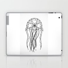 Dreamcatcher Jellyfish - Ink Laptop & iPad Skin
